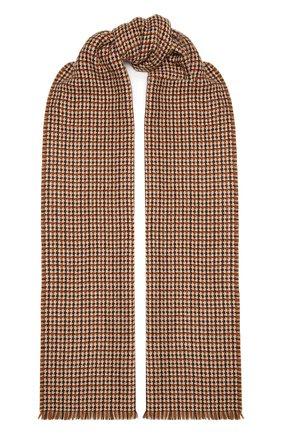 Мужской кашемировый шарф LORO PIANA бежевого цвета, арт. FAL3945 | Фото 1