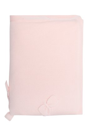 Детского шерстяное одеяло BABY T светло-розового цвета, арт. 20AI102C0IMB | Фото 1