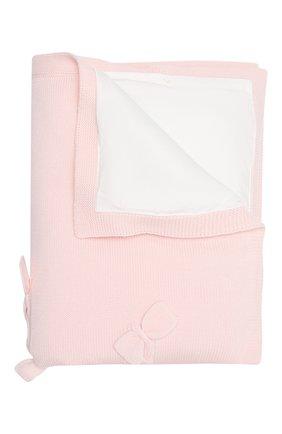 Детского шерстяное одеяло BABY T светло-розового цвета, арт. 20AI102C0IMB | Фото 2