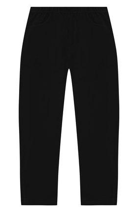 Детские брюки POIVRE BLANC черного цвета, арт. 279646   Фото 1