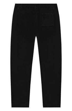 Детские брюки POIVRE BLANC черного цвета, арт. 279646   Фото 2