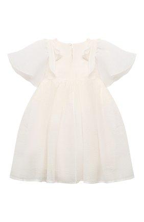 Детское платье PAADE MODE бежевого цвета, арт. 20410751/4M-8Y   Фото 2