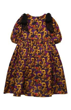 Детское шелковое платье PAADE MODE разноцветного цвета, арт. 20410841/4M-8Y   Фото 2