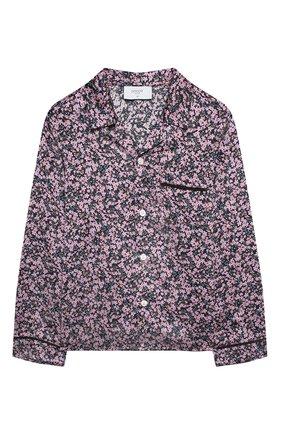 Детское шелковая блузка PAADE MODE розового цвета, арт. 20414603/4M-8Y   Фото 1