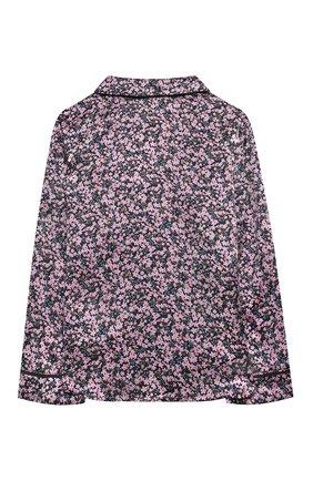 Детское шелковая блузка PAADE MODE розового цвета, арт. 20414603/4M-8Y   Фото 2