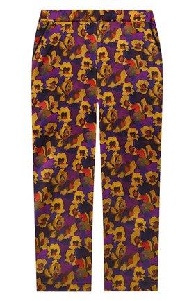 Детские шелковые брюки PAADE MODE разноцветного цвета, арт. 20418052/4M-8Y   Фото 1