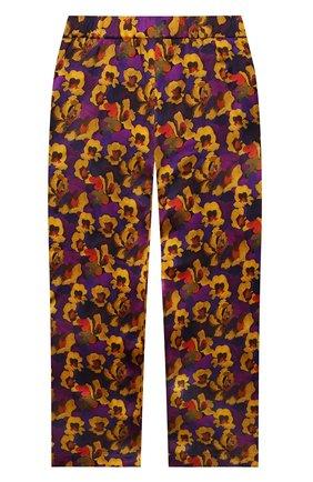 Детские шелковые брюки PAADE MODE разноцветного цвета, арт. 20418052/4M-8Y   Фото 2
