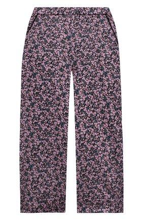 Детские шелковые брюки PAADE MODE розового цвета, арт. 20418053/4M-8Y   Фото 1