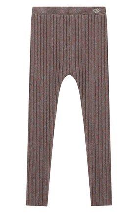 Детские шерстяные леггинсы GUCCI серого цвета, арт. 622711/XKBG7 | Фото 1