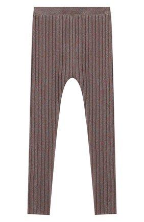 Детские шерстяные леггинсы GUCCI серого цвета, арт. 622711/XKBG7 | Фото 2