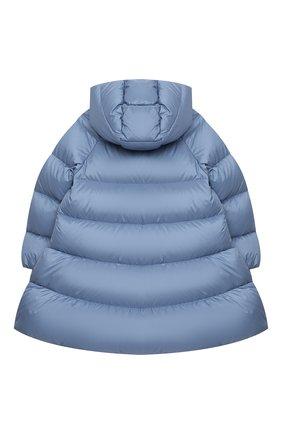 Детское пуховое пальто IL GUFO голубого цвета, арт. A20GP263N0068/5A-8A   Фото 2