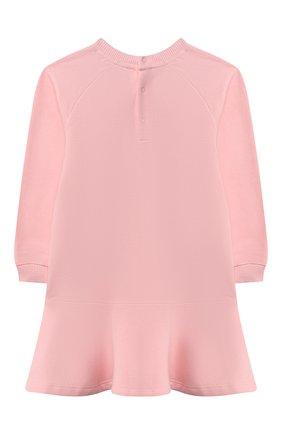 Женский хлопковое платье MOSCHINO розового цвета, арт. MAV07M/LDA14 | Фото 2