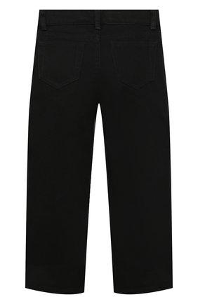 Детские джинсы BURBERRY черного цвета, арт. 8033291   Фото 2