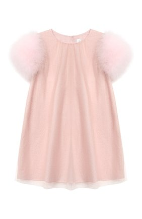 Детское платье CHARABIA розового цвета, арт. S12079   Фото 1