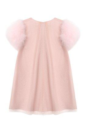 Детское платье CHARABIA розового цвета, арт. S12079   Фото 2
