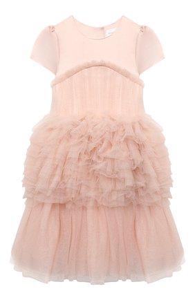 Детское платье CHARABIA розового цвета, арт. S12111   Фото 1