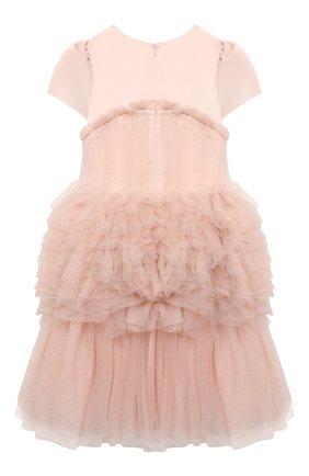 Детское платье CHARABIA розового цвета, арт. S12111   Фото 2