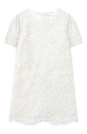 Детское платье CHARABIA белого цвета, арт. S12100 | Фото 1