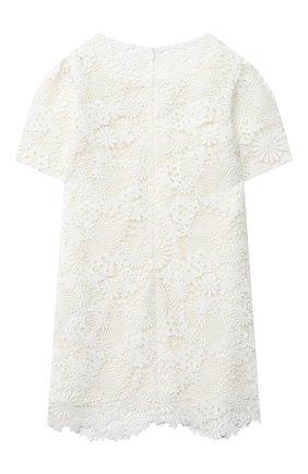 Детское платье CHARABIA белого цвета, арт. S12100 | Фото 2