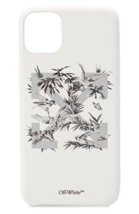 Мужской чехол для iphone 11 pro max OFF-WHITE белого цвета, арт. 0WPA013F20PLA0010109 | Фото 1