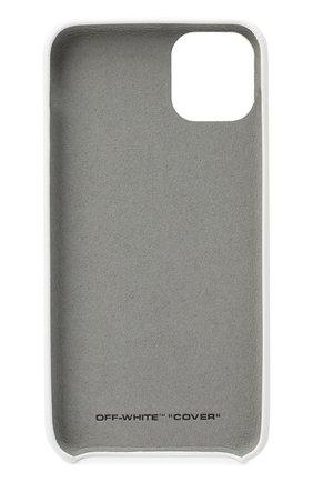 Мужской чехол для iphone 11 pro max OFF-WHITE белого цвета, арт. 0WPA013F20PLA0010109 | Фото 2