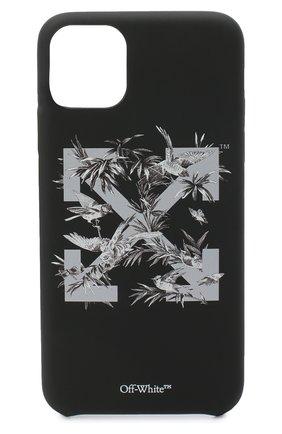 Мужской чехол для iphone 11 pro max OFF-WHITE темно-серого цвета, арт. 0WPA013F20PLA0011009 | Фото 1