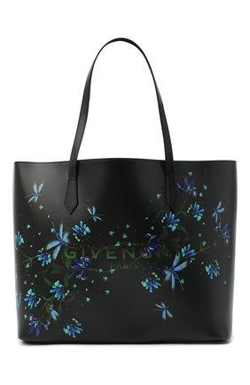 Женский сумка-шопер wing  GIVENCHY черного цвета, арт. BB50C5B0XS | Фото 1