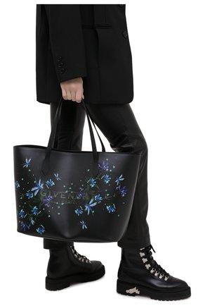Женский сумка-шопер wing  GIVENCHY черного цвета, арт. BB50C5B0XS | Фото 2