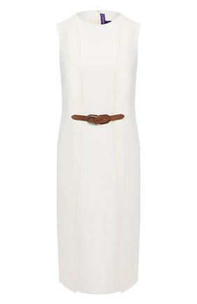 Женское шерстяное платье RALPH LAUREN кремвого цвета, арт. 290815937 | Фото 1