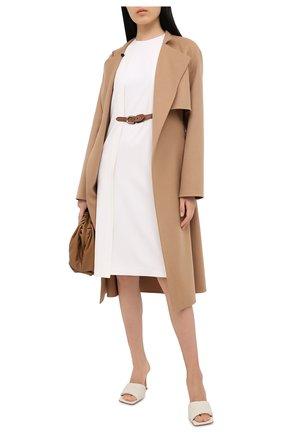 Женское шерстяное платье RALPH LAUREN кремвого цвета, арт. 290815937 | Фото 2