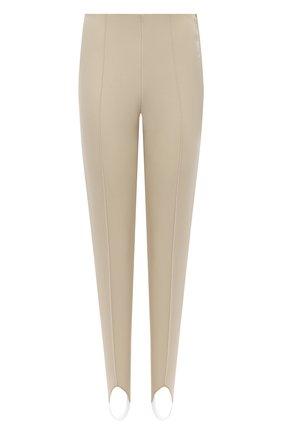 Женские брюки со штрипками BOGNER бежевого цвета, арт. 11714170 | Фото 1