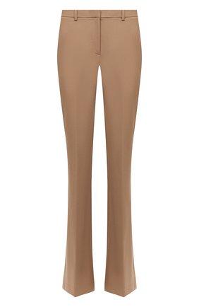 Женские шерстяные брюки THEORY бежевого цвета, арт. I0001201 | Фото 1