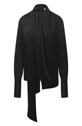 Женская блузка LOEWE черного цвета, арт. S359332X16   Фото 1