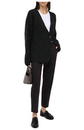 Женский шерстяной кардиган TWINS FLORENCE темно-серого цвета, арт. TWFAI20MAG0001   Фото 2