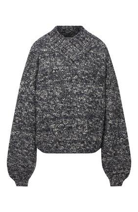 Женский шерстяной свитер TWINS FLORENCE темно-серого цвета, арт. TWFAI20MAG0007C | Фото 1