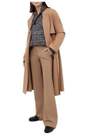 Женский шерстяной свитер TWINS FLORENCE темно-серого цвета, арт. TWFAI20MAG0007C | Фото 2