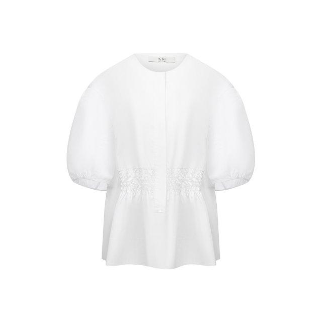 Хлопковая блузка Tibi
