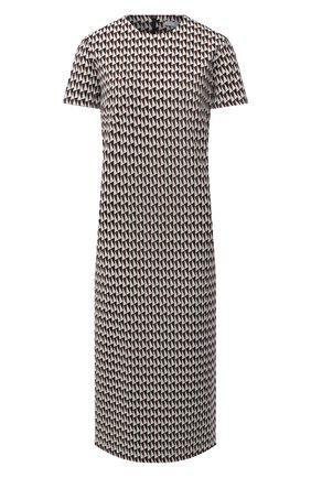 Женское платье TIBI коричневого цвета, арт. P220SJ1417 | Фото 1