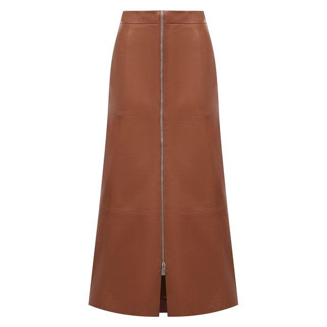 Кожаная юбка DROMe