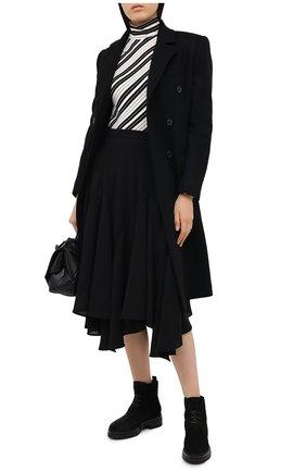 Женские замшевые ботинки GIANVITO ROSSI черного цвета, арт. G73364.20G0M.SFUNENE | Фото 2