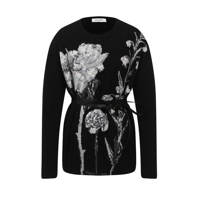 Пуловер из шерсти и кашемира Valentino