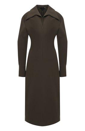 Женское платье LOW CLASSIC хаки цвета, арт. L0W20FW_DR01KH | Фото 1