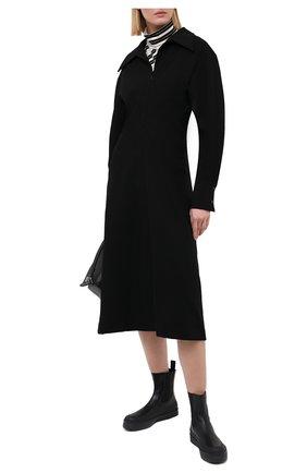 Женское платье LOW CLASSIC черного цвета, арт. L0W20FW_DR02BK | Фото 2