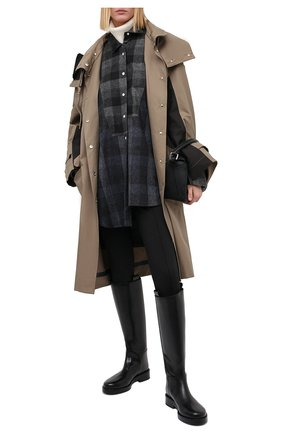Женские брюки со штрипками LOW CLASSIC черного цвета, арт. L0W20FW_LG02BK | Фото 2