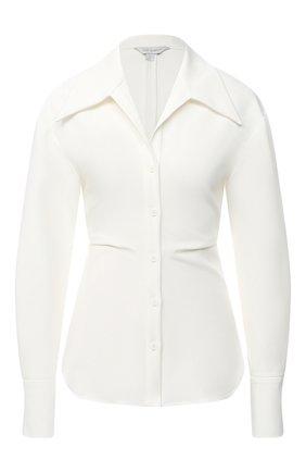 Женская рубашка LOW CLASSIC белого цвета, арт. L0W20FW_SH15IV | Фото 1
