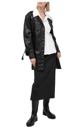 Женская юбка LOW CLASSIC серого цвета, арт. L0W20FW_SK03GR | Фото 2