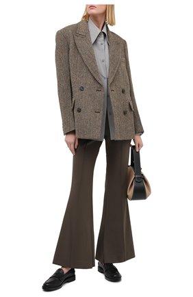 Женские брюки LOW CLASSIC хаки цвета, арт. L0W20FW_TR03KH | Фото 2