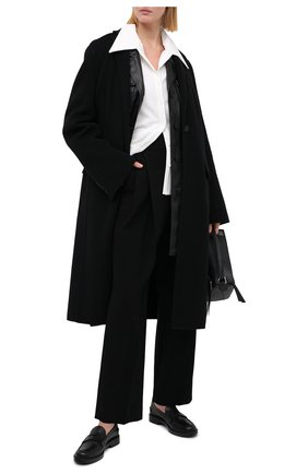 Женские брюки LOW CLASSIC черного цвета, арт. L0W20FW_TR13BK | Фото 2