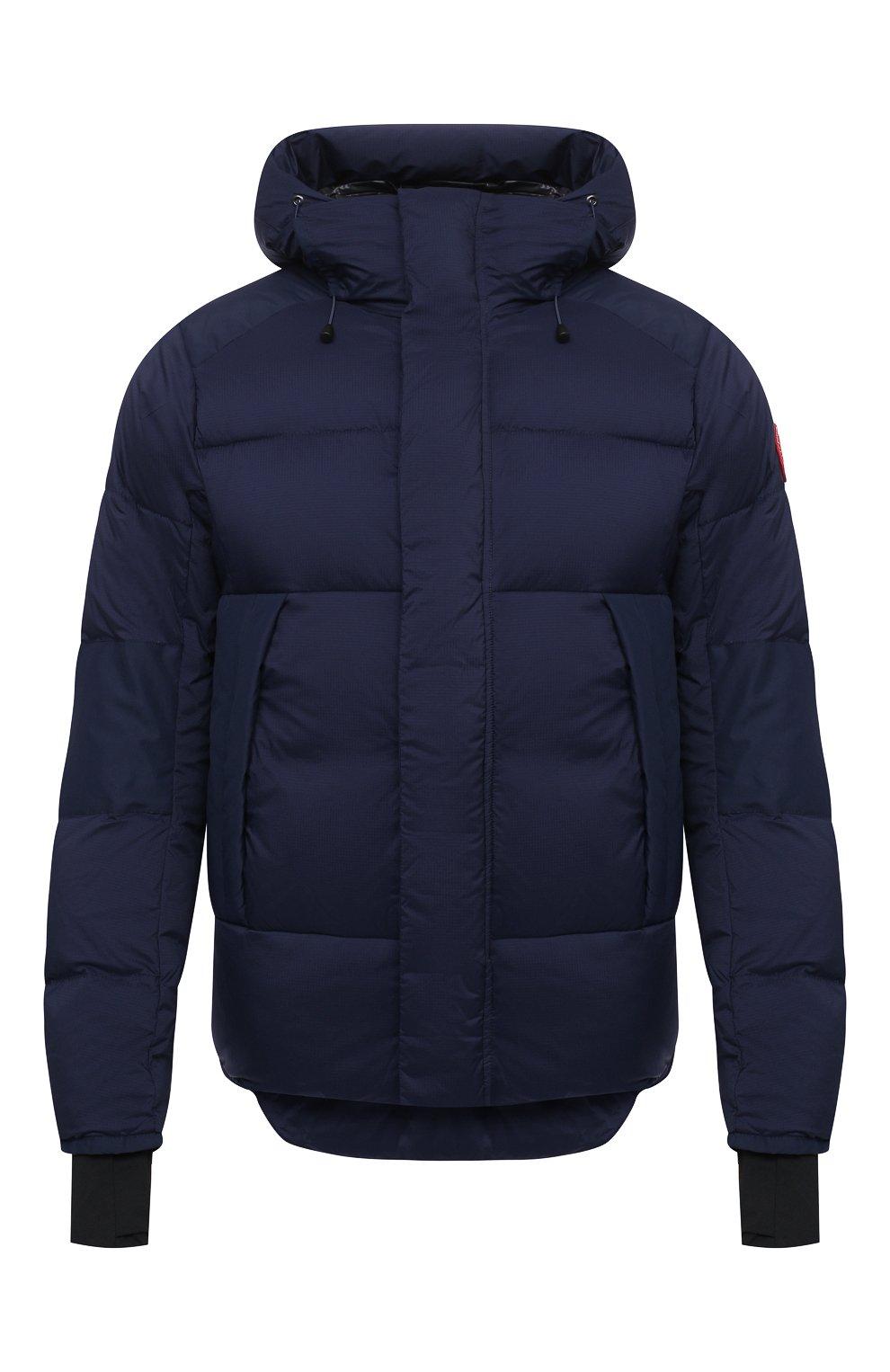 Мужская пуховая куртка armstrong CANADA GOOSE темно-синего цвета, арт. 5076M | Фото 1
