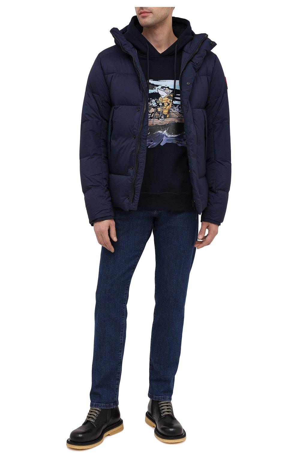 Мужская пуховая куртка armstrong CANADA GOOSE темно-синего цвета, арт. 5076M | Фото 2